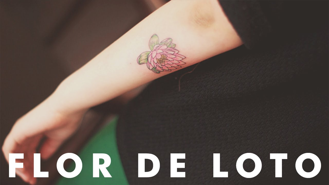 14 Ideas De Tatuajes De La Flor De Loto Youtube