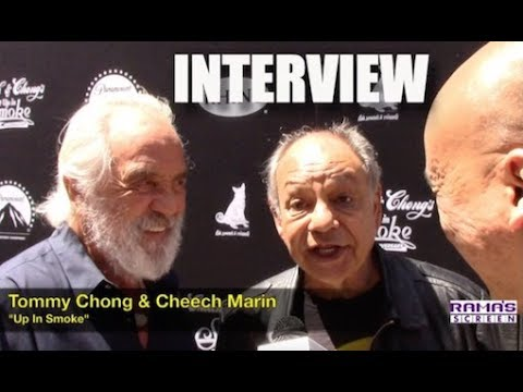 My Interview with Tommy Chong and Cheech Marin at 'UP IN SMOKE' 40th Anniversary