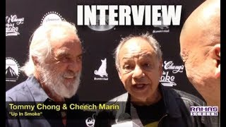 Gambar cover My Interview with Tommy Chong and Cheech Marin at 'UP IN SMOKE' 40th Anniversary