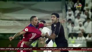 بالفيديو.. هل استحق الحكم الإماراتي الطرد من مباراة العين والشارقة؟!