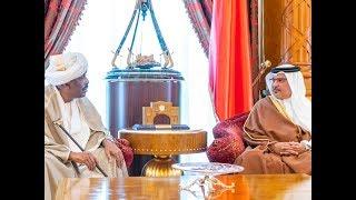سمو ولي العهد يلتقي سعادة السيد إبراهيم محمد الحسن أحمد سفير جمهورية السودان لدى مملكة البحرين