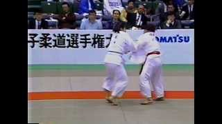 1992 all japan open womens judo qf 4