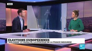 """""""Holovans"""" et ruralité, la stratégie de La France Insoumise pour les élections européennes"""