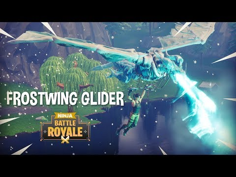 NEW EPIC Frostwing Glider!! Fortnite Battle Royale Gameplay  Ninja