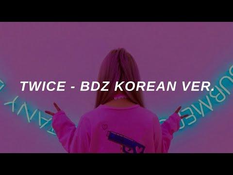 Twice (트와이스) – 'BDZ (Korean Ver.)' Easy Lyrics