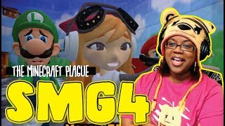 The Minecraft Plague by SMG4 Glitch Productions | Animation Reaction