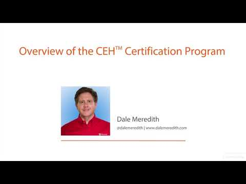 Ethical Hacking  3Overview of the CEH Certification Program
