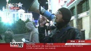 Les anti-pubs s'attaquent au Furet du Nord (Lille)