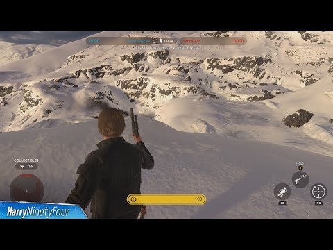 Star Wars Battlefront - All Collectible Locations - Hero Battle on Hoth Collectible Guide