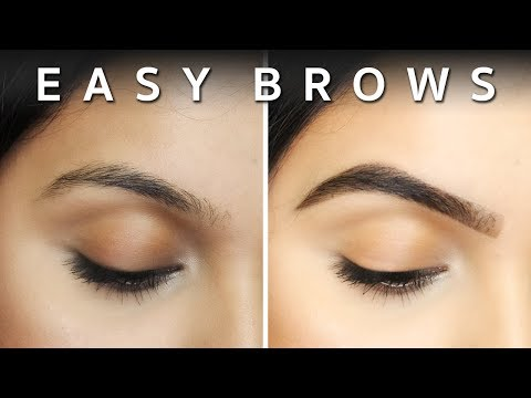 EASY BROWS | Beginners Eyebrow Tutorial