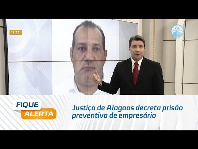 Justiça de Alagoas decreta prisão preventiva de  empresário que atirou em garçom na praia do Francês