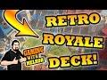 Retro Royale Deck Clash Royale! BEST RETRO ROYALE CHALLENGE DECK | GamingWithMelkor