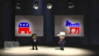 obama v bush debate