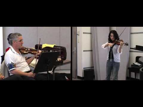 Pinchas Zukerkman lesson - Jaram Kim