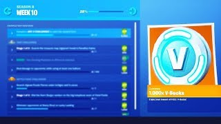 Fortnite WEEK 10 CHALLENGES LEAKED! Season 8 Week 10 challenges!