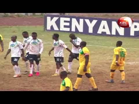 Nyakeya scores a crucial goal for Mathare United