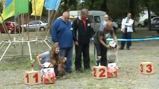 Победители Беста Щенков 05 09 2010г  выставка ''Рибо'' г Луганск.