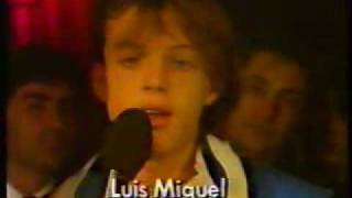 Luis Miguel con Albert Malla Barcelona 1985
