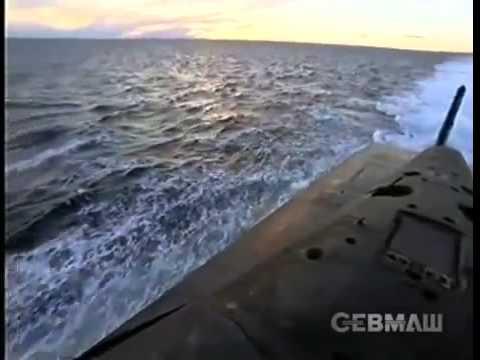 Самая большая в мире атомная ракетная подводная лодка Дмитрий Донской проекта 941 Тайфун