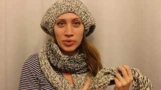 Вязание шапки для начинающих