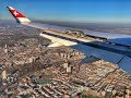 Dash8 Q400 Panoramic approach over London city - EGLC ...
