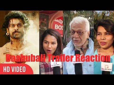 Baahubali 2 Movie Trailer Reactions   Public Reaction On Baahubali 2 Movie