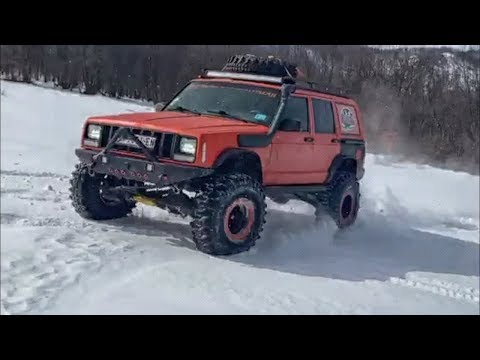 Jeep Cherokee XJ Orange