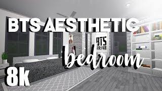 ROBLOX | Willkommen in Bloxburg: BTS (K-Pop) Ästhetisches Schlafzimmer