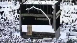 ISLAMIC VIDEOS : Changing Kiswa, the cover of Kabah Part 2