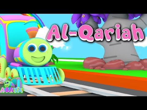 MUROTTAL JUZ 30   Animation 3D Juz Amma Al - Qariah   Recite Quran with Battar   ABATA Channel