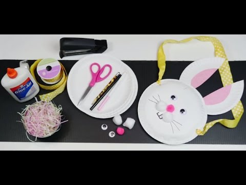 panier oeufs de p ques en assiette en carton hellokids youtube. Black Bedroom Furniture Sets. Home Design Ideas