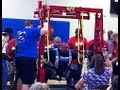 WORLD RECORD SQUAT 1260lbs/571.5kg Donnie Thompson