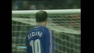 Франция 1 0 Испания Товарищеский матч 1998