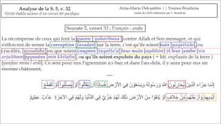 Anne marie Delcambre : vérité  sur le  verset :