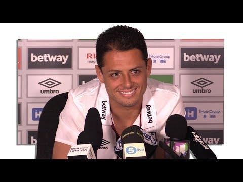 Javier Hernandez First West Ham Press Conference - Has 'No Regrets' Leaving Manchester United