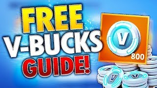 How You Can Get 500 V-Bucks Everyday For FREE In Fortnite! (Free V-Bucks)