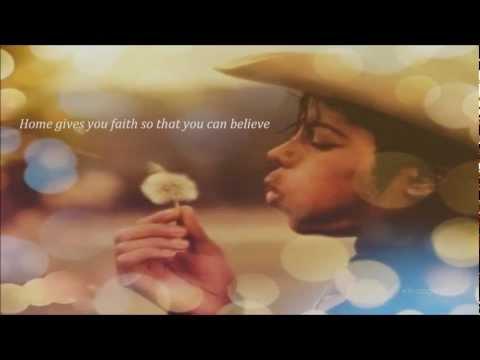 Michael Jackson - HOME (rare poem by MJ)