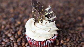 Кофейно-шоколадные капкейки ☆ Coffee and chocolate cupcakes