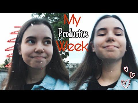 Стань Лучшей Версией Себя | My Productive Week | Мотивация | Моя Продуктивная Неделя | Study With Me