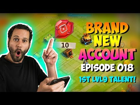 NEW ACCOUNT Episode 18: 1st LVL 9 Talent!