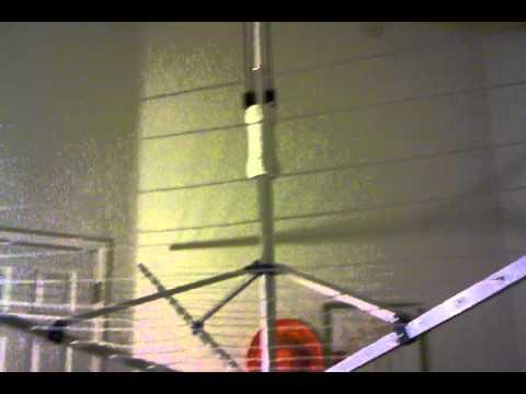 daytek folding clothesline instructions