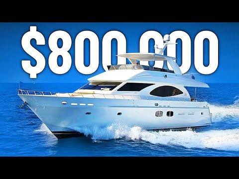 These Yachts Cost Less Than $1 Million