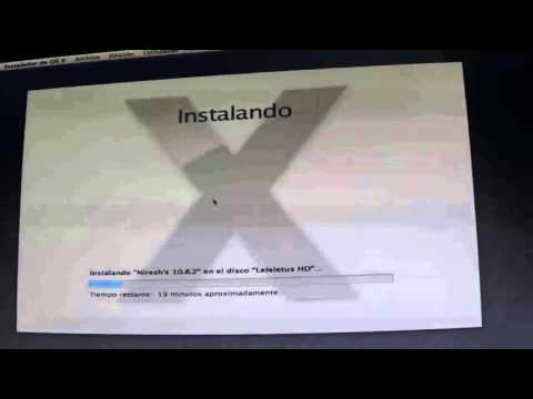 Como instalar Os X 10.8 en Pc (hackintosh) Distro Niresh