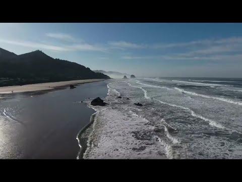 Cannon Beach Oregon | Things To Do In Cannon Beach | DJI Phantom 4 | 4K Videos