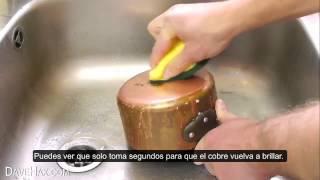 Limpiar una olla sin productos quimicos