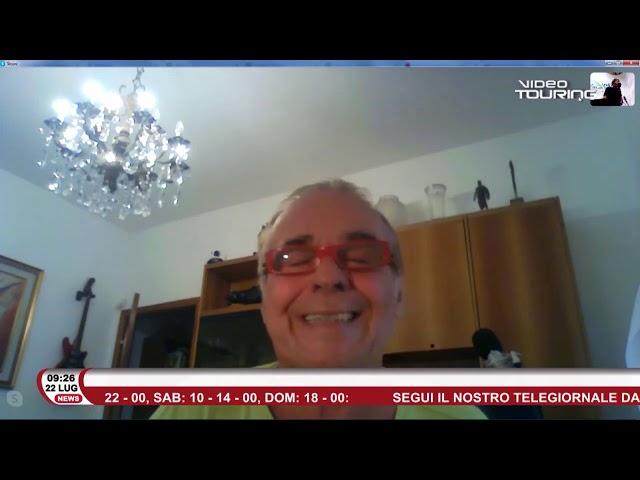 Umberto Napolitano, ospite di Radio Touring, parla di musica e Città Italia