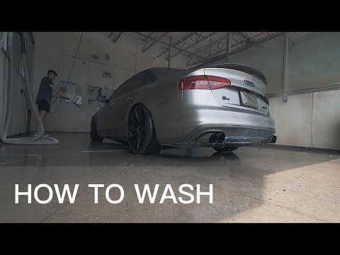 HOW TO WASH VINYL WRAPPED CARS?