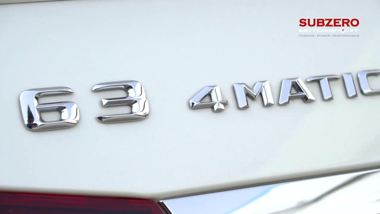 Brand New E63 AMG Custom Tuning | Subzero Motorsports