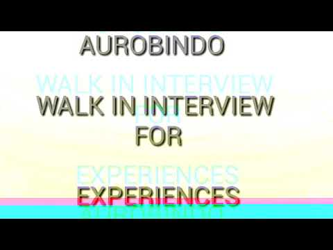 AUROBINDO INTERVIEW