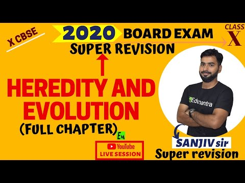 Heredity And Evolution FULL CHAPTER REVISION FOR BOARD EXAMS 10TH CBSE